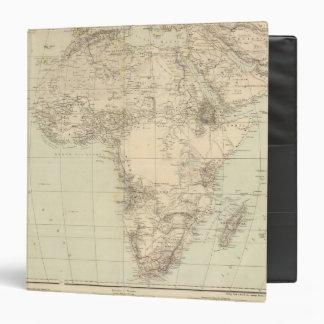 Africa Atlas Map showing colonies Binder