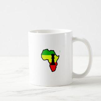 Africa Black Queen Chess Piece Mug