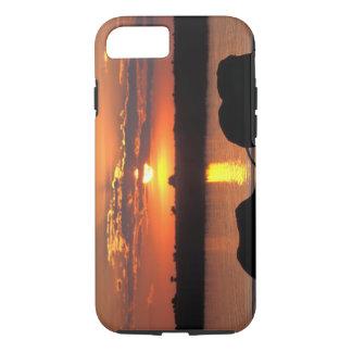 Africa, Botswana, Chobe National Park, Herd of iPhone 8/7 Case