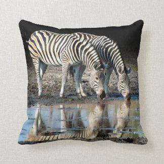 Africa,Botswana, Okavango Delta, Davison Camp Throw Pillow