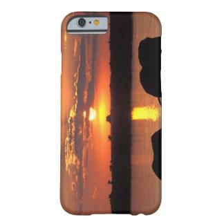 África, Botswana, parque nacional de Chobe, manada Funda De iPhone 6 Barely There