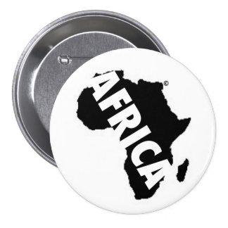 Africa Button White