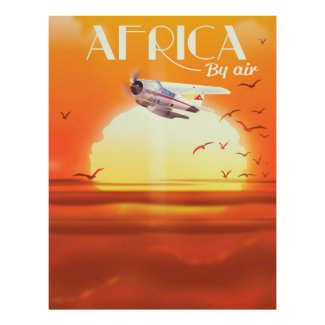 Africa By Air Poster
