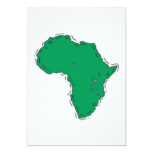 Africa Card