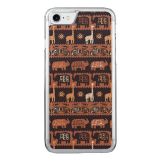 Africa Carved iPhone 7 Case