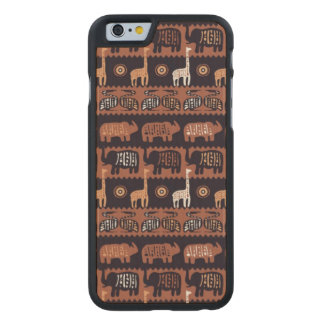 Africa Carved Maple iPhone 6 Case
