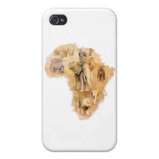 Africa Cases For iPhone 4