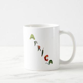 Africa Chili Peppers Classic White Coffee Mug