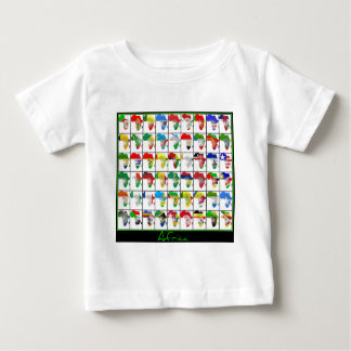Africa Collage Baby T-Shirt