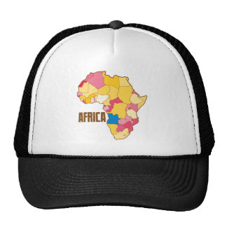 AFRICA colour map nation Trucker Hat