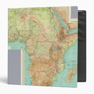 África compuesta con las rutas de envío