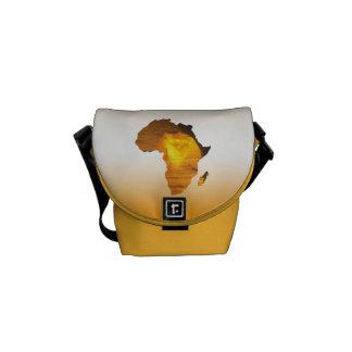África con la esfinge bolsa de mensajería