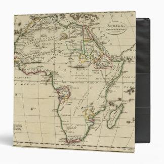 """África con los límites resumidos carpeta 1 1/2"""""""