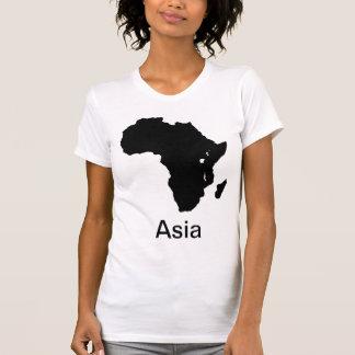 Africa Continent Asia - Make Fun T Shirt