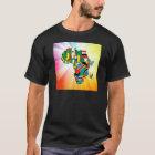 Africa Continent Flag Map 2 T-Shirt