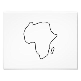 África continente africano tarjeta fotografías