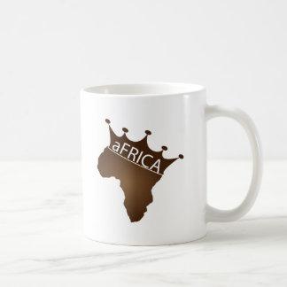 aFRICA Crowned Coffee Mug