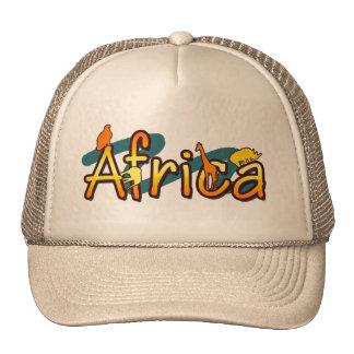 África de moda los gorras del safari se refresca y