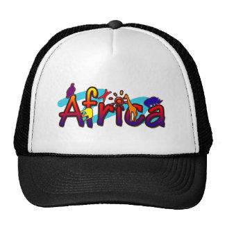 África de moda se refresca y diversión, gorras del