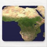 África del espacio alfombrillas de ratones