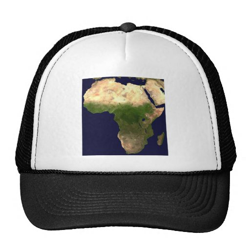 África del espacio gorras
