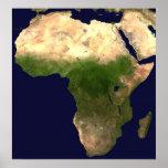 África del espacio impresiones