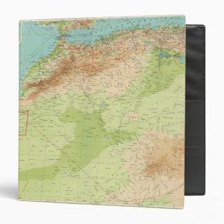 África del noroeste con las rutas de envío