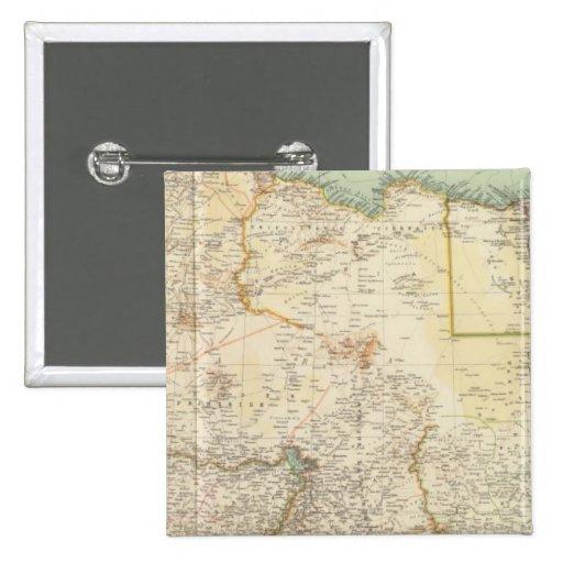África del Norte 10911 Pin Cuadrada 5 Cm