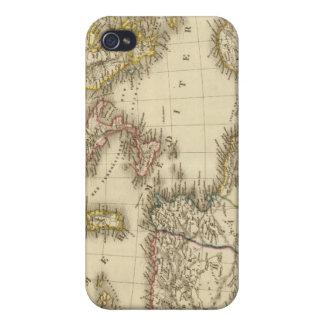 África del Norte, mar Mediterráneo iPhone 4/4S Fundas