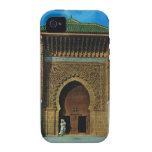 África del Norte, Meknes, Tangers, mezquita iPhone 4 Fundas