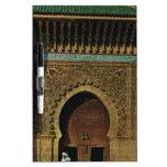 África del Norte, Meknes, Tangers, mezquita Pizarras Blancas De Calidad