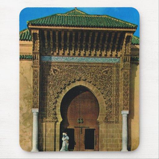África del Norte, Meknes, Tangers, mezquita Alfombrilla De Ratones