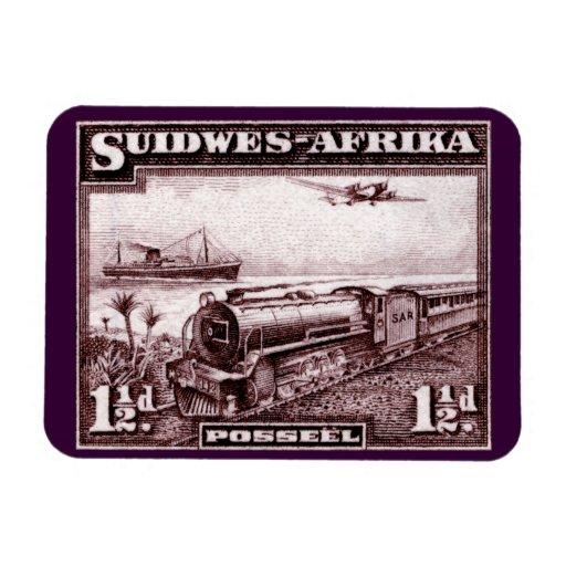 África del sudoeste 1937 imán flexible