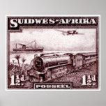 África del sudoeste 1937 impresiones
