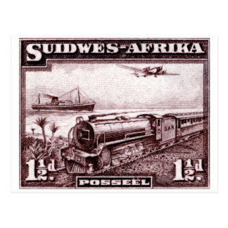 África del sudoeste 1937 postales