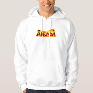 Africa design unisex safari hooded sweatshirt