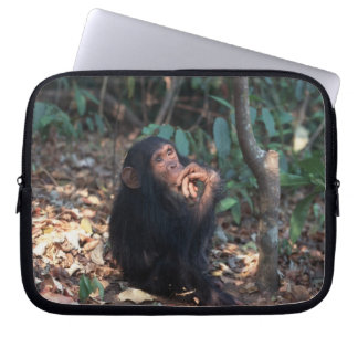 Africa, East Africa, Tanzania, Gombe National 2 Laptop Computer Sleeve