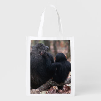 Africa, East Africa, Tanzania, Gombe National Reusable Grocery Bag