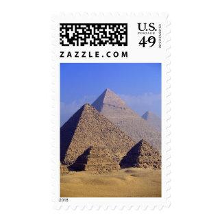 África, Egipto, El Cairo, Giza. Grandes pirámides Sellos