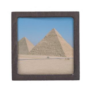 África - Egipto - El Cairo - grandes pirámides de  Caja De Regalo De Calidad