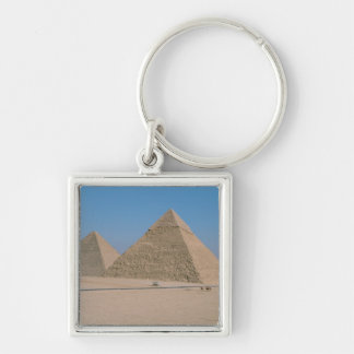 África - Egipto - El Cairo - grandes pirámides de  Llavero