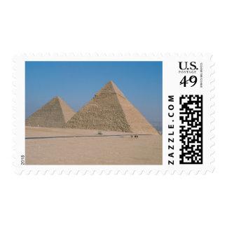 África - Egipto - El Cairo - grandes pirámides de Sello