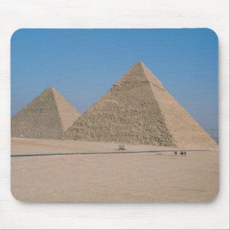 África - Egipto - El Cairo - grandes pirámides de  Tapete De Ratones