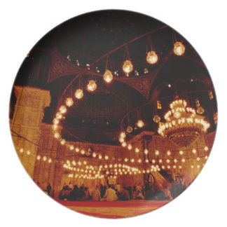 África, Egipto, El Cairo, Mohamed Ali Mosque, Platos Para Fiestas