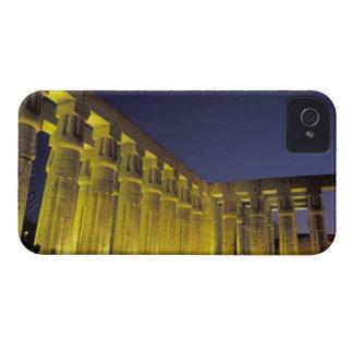 África, Egipto, Luxor. Corte de Sun de Amenhotep iPhone 4 Funda