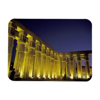 África, Egipto, Luxor. Corte de Sun de Amenhotep Imán