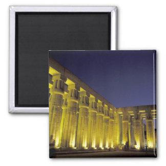 África, Egipto, Luxor. Corte de Sun de Amenhotep Imán Cuadrado