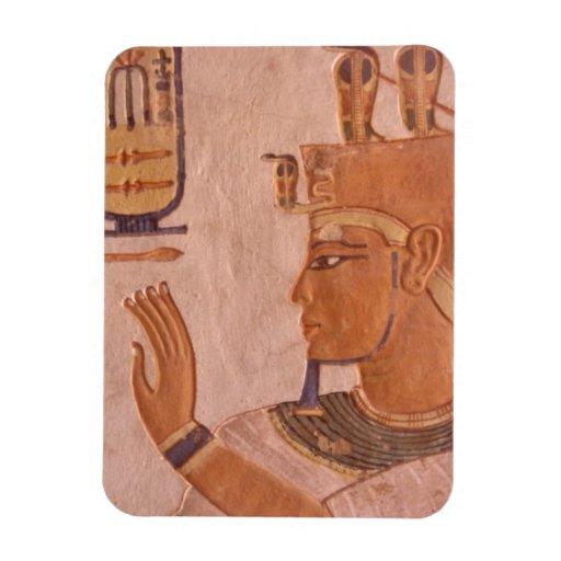 África, Egipto, valle de los reyes. Pared de la tu Imanes