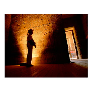 Africa, Egypt, Aswan, Philae, Temple complex of Postcard
