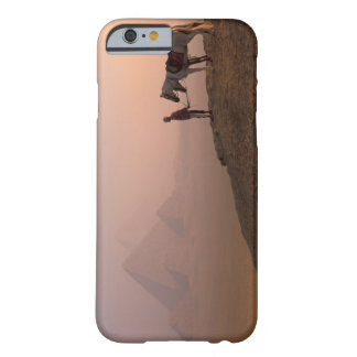 Africa, Egypt, Cairo, Giza, Giza pyramids at Barely There iPhone 6 Case